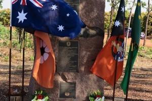 Brevet Sergeant Glen Huitson memorial, 3 August 2015