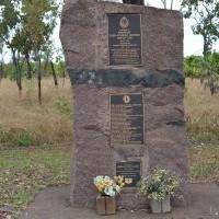 Roadside memorial stone