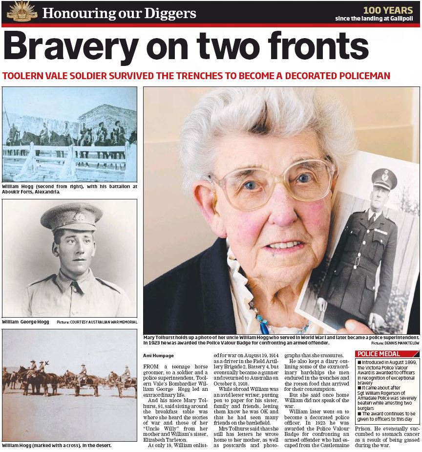 Leader Community Newspapers http://leader.newspaperdirect.com/epaper/viewer.aspx Melton Leader Eastern Edition 21 April 2015 Honouring our Diggers