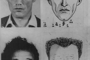Photos and Identikit images of MacDonald.
