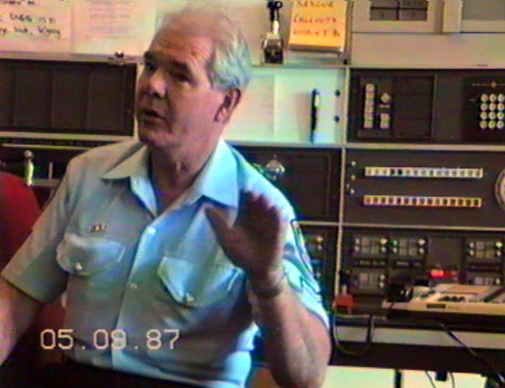 SENIOR CONSTABLE CARL HANSON, VKG2, WARILLA POLICE RADIO - SENIOR OPERATIONS OFFICER.  1987 - 1988