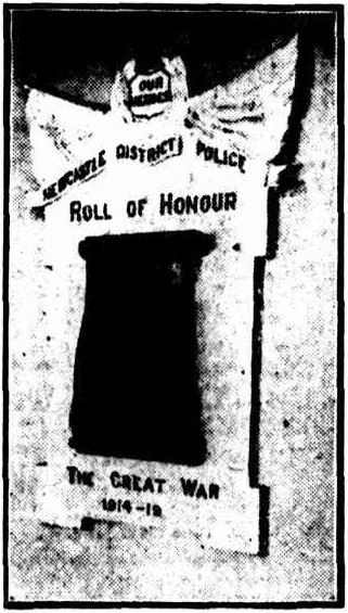 Newcastle Police Honour Roll