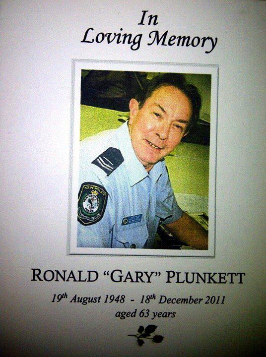 Ronald Gary PLUNKETT