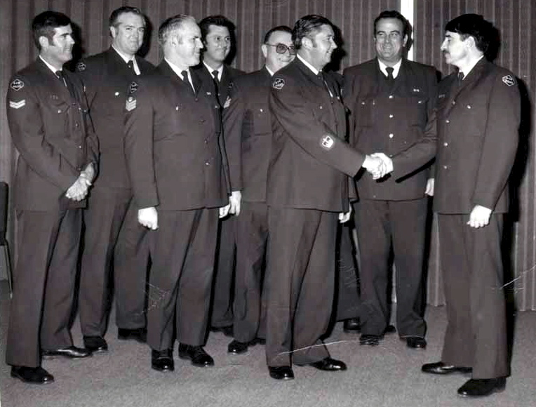 Tony Stevens - Brian Johnson - Bill Smith - Roy Beverstock - Bob Hurst - Jack Pearce - Russ Swinbourne - Gary Ticehurst the first PolAir Pilot
