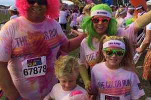 Greg FAIRCLOUGH - 2014 Color Run