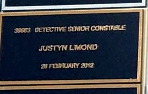 Sunday 27 September 2015. Memorial Wall dedication at the Sydney Police Centre, Surry Hills