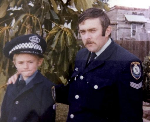 Young Adam HAMMOND with his father ROY ANTHONY HAMMOND<br />