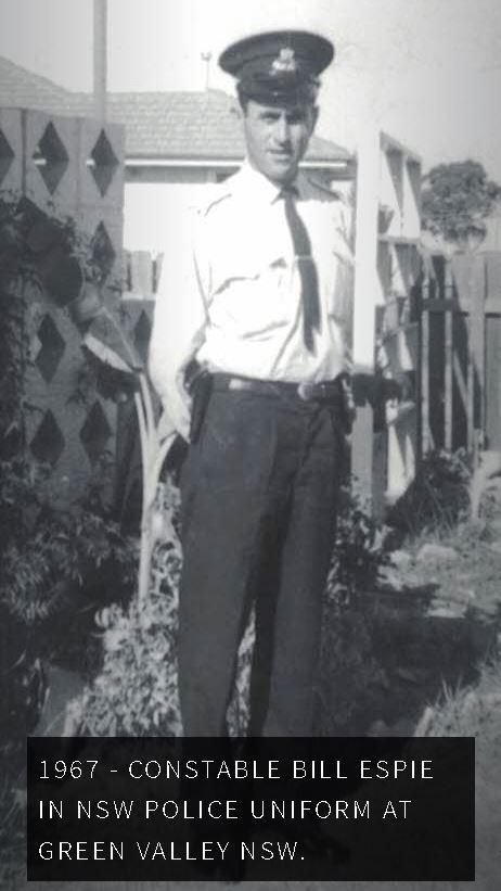 William Leonard ESPIE aka Bill, 'Buckshot', 'The Wasp'