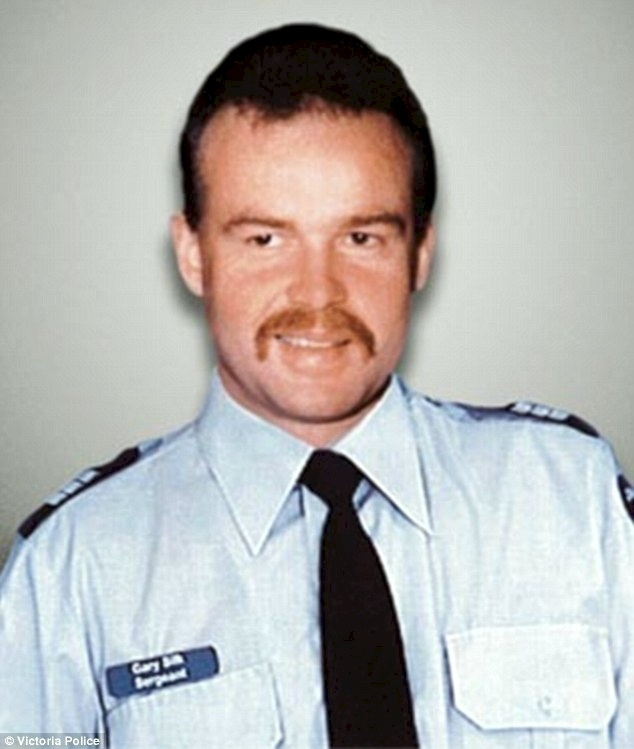 In the early hours of Sunday, August 16, 1998, Victoria Police Officers Sergeant Gary Silk and Senior Constable Rodney Miller (pictured) were staking out the Silky Emperor Restaurant in Moorabbin, in Melbourne's south-eastern suburbs during an investigation into a spate of armed robberies when they were gunned down at close range