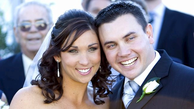 Sgt Dan Stiller, tragically killed on duty in a traffic accident, and his wife Julie.