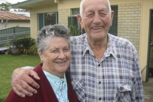 EMPATHY: Myrle and Ken Hauser, of Mannering Park, who will feature in a television documentary on dementia.