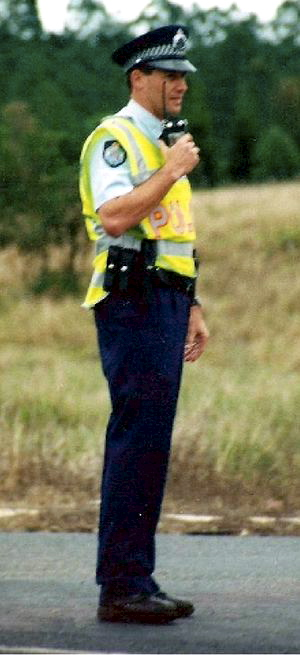 SEVERAL POSTINGS: Det Snr Const Russell Sheehan during his time at Childers between 1998 and 2000. Contributed