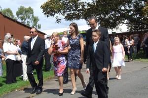 Dick Lamb BM family escort