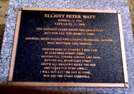 Elliott Peter WATT