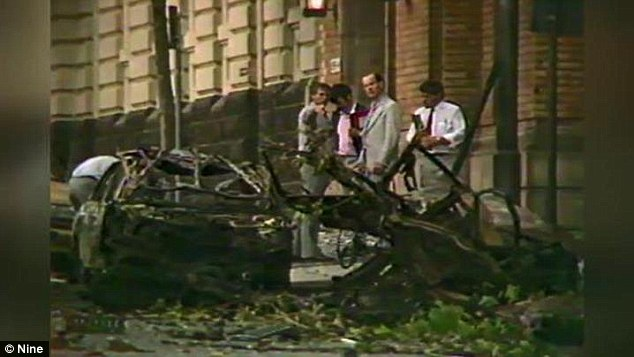 The deadly bomb blast shattered precinct windows and shook up the policing community sparking a wide search for those responsible