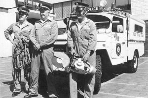 Rescue 27 ( Blacktown ) Ron McGOWN, Henry LEVY, Col KELSON