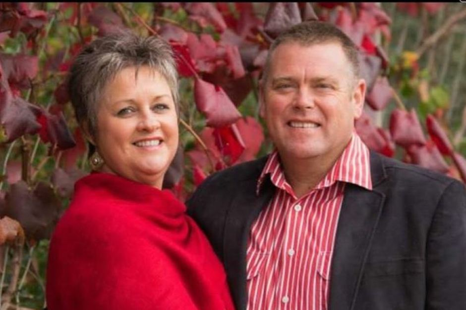 Photo: Married couple Wendy and Raymond McNish (Supplied: Wendy McNish)
