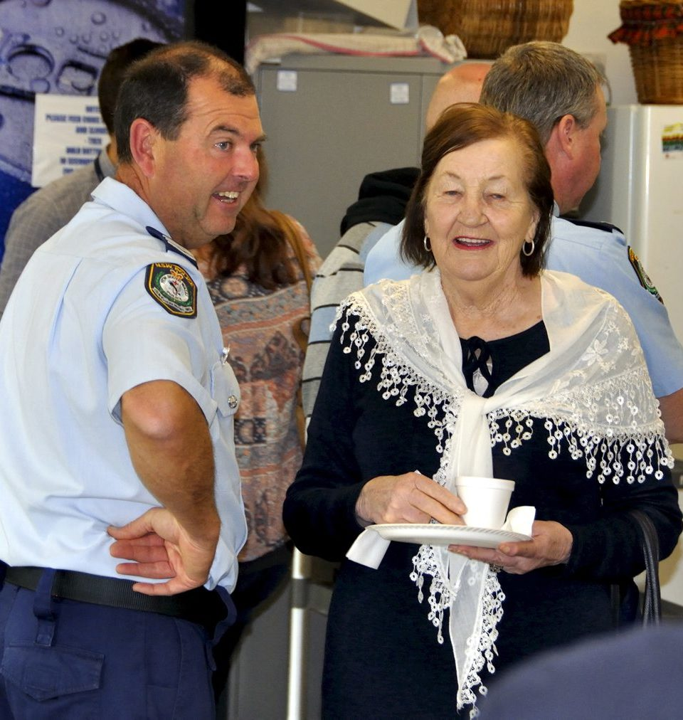 Scott ABBOTT & Audrey FOSTER- Widow of Ron. https://www.australianpolice.com.au/ron-foster/