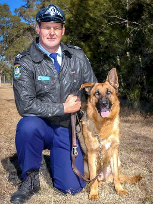 Jeff Brown spent 16 years in Dog Squad.