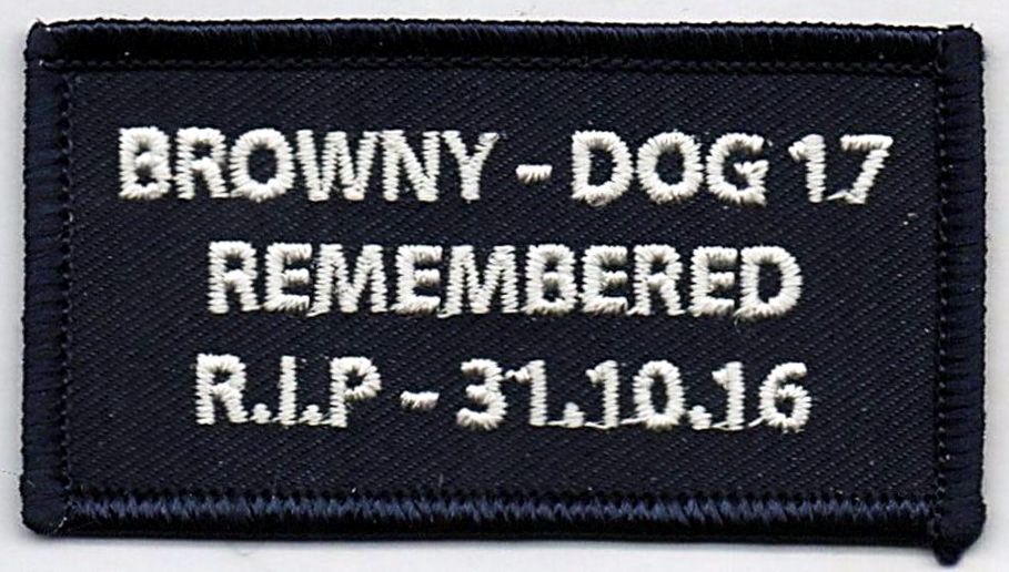 "Patch made up in memory of a great man, father and police officer.   All proceeds go to Jeff's Fiancé Amy and young son William.   Patch made up in memory of a great man, father and police officer. </b>  $22 per patch includes postage.<b>  </b> Orders through Roger Mayer. <a href=""mailto:rumdog1@bigpond.net.au"" target=""_blank"" rel=""noopener noreferrer"">rumdog1@bigpond.net.au</a>  Thank you for your support.  I like to think the brotherhood is still out there and we look after those that looked after us."
