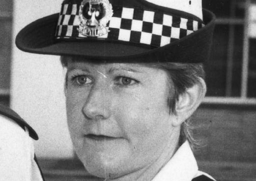 Constable Sharynne Grant pictured in 1987. Pic: File
