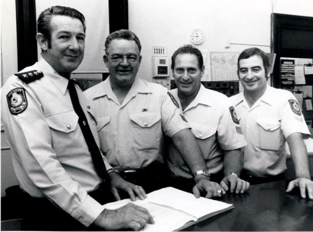 Maitland Police: Inspector Mark Hickson OIC, Sergeant David Maranda, Sgt Merv Leggett &, possibly Neville Wild.