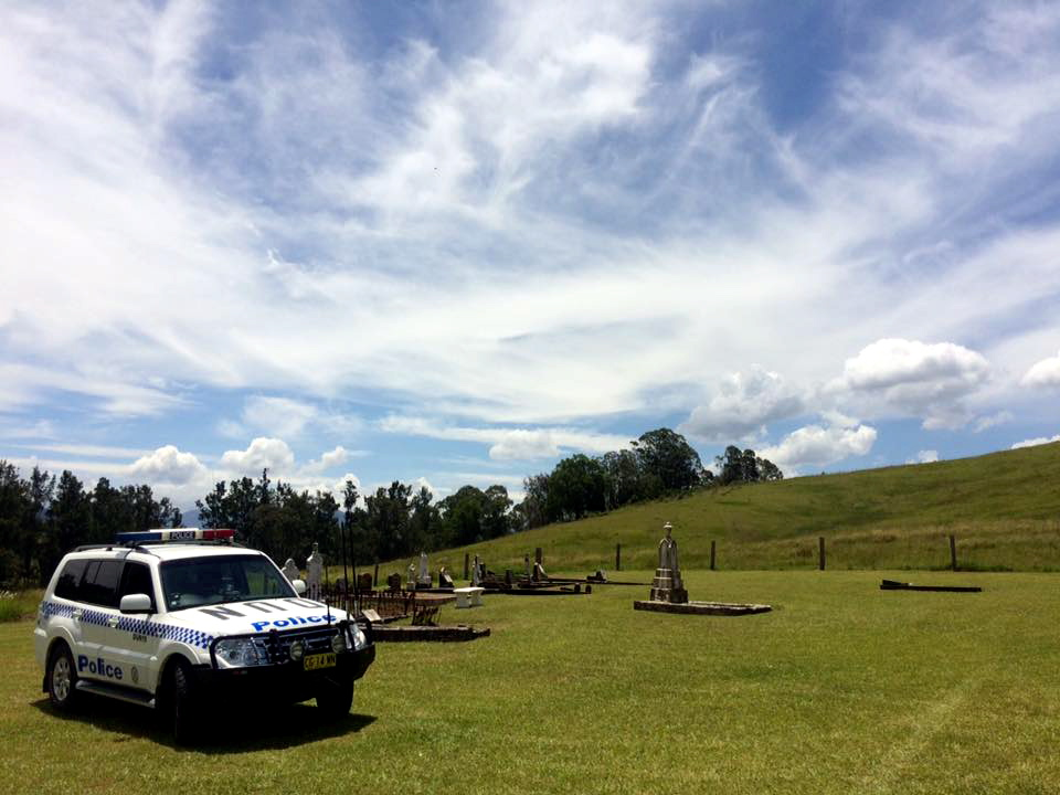 Melbury Cemetery ( on private property near Salisbury, NSW )