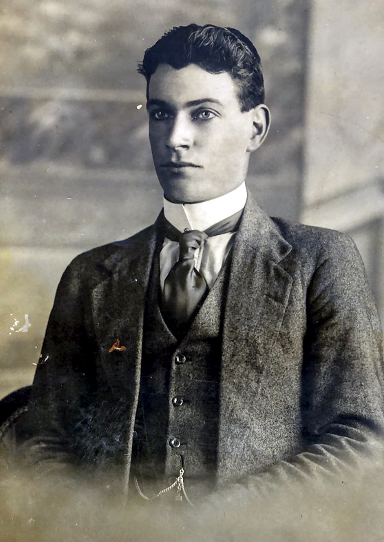 W L C Alford as a young man.
