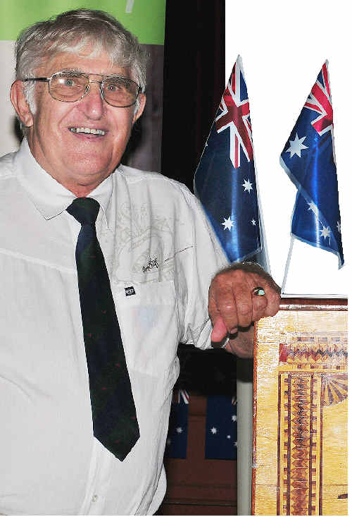 Hervey Bay's Australia Day Citizen of the Year Denis Dack. Nat Bromhead