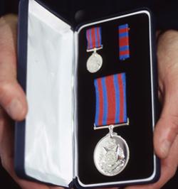 Senior Constable Simon David De Winne was posthumously awarded the Victoria Police Star<br />