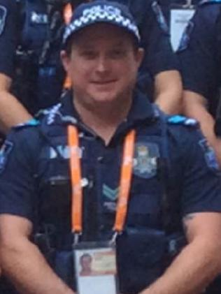 Senior Constable Brett Forte.<br />