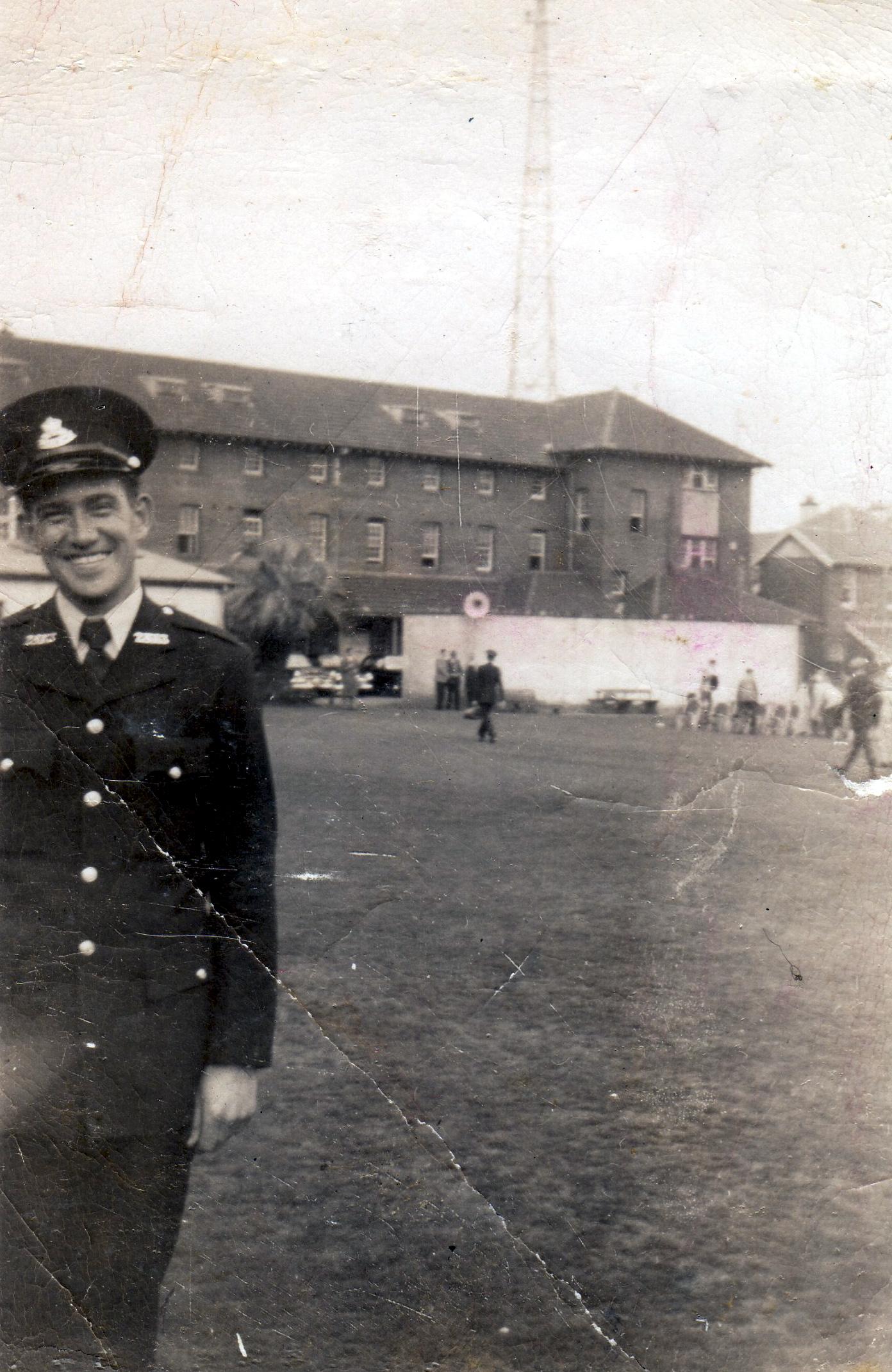 Maurice Raymond McDIARMID at Redfern Police Academy