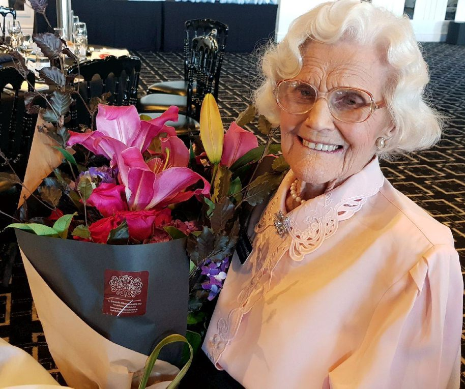 Gloria Behringer at the 2017 Annual Christmas Luncheon with NSW Police Legacy