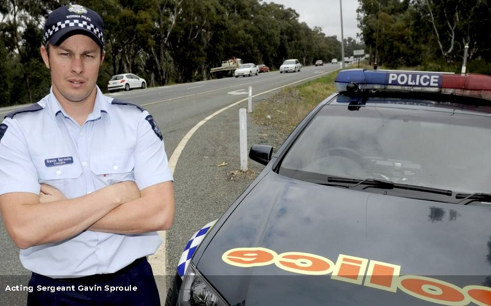 Acting Sergeant Gavin Sproule