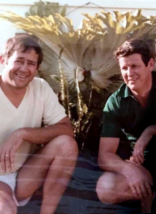 Russell Raymond DREW (L) and Herman VanderVegt (R)
