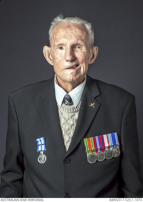 Studio portrait of 66453 Leading Aircraftman Greville Reginald Pinkerton who served during the Second World War. 'Reflections – Honouring Australian Second World War Veterans' is a project spanning from 2015 – 2017. During this time span 450 Australian Institute of Accredited Photographers from around Australia photographed 6,500 World War Two Veterans. This digital archive was gifted to the Australian War Memorial by the Australian Institute of Professional Photography (AIPP) in 2017.