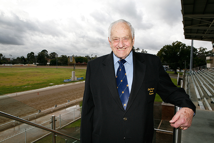 Max Laughton was the heart and soul of Penrith Paceway<br />
