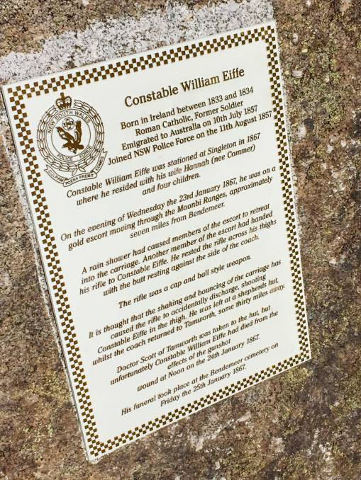 William EIFFE Memorial<br /> William is actually buried in an unmarked grave.