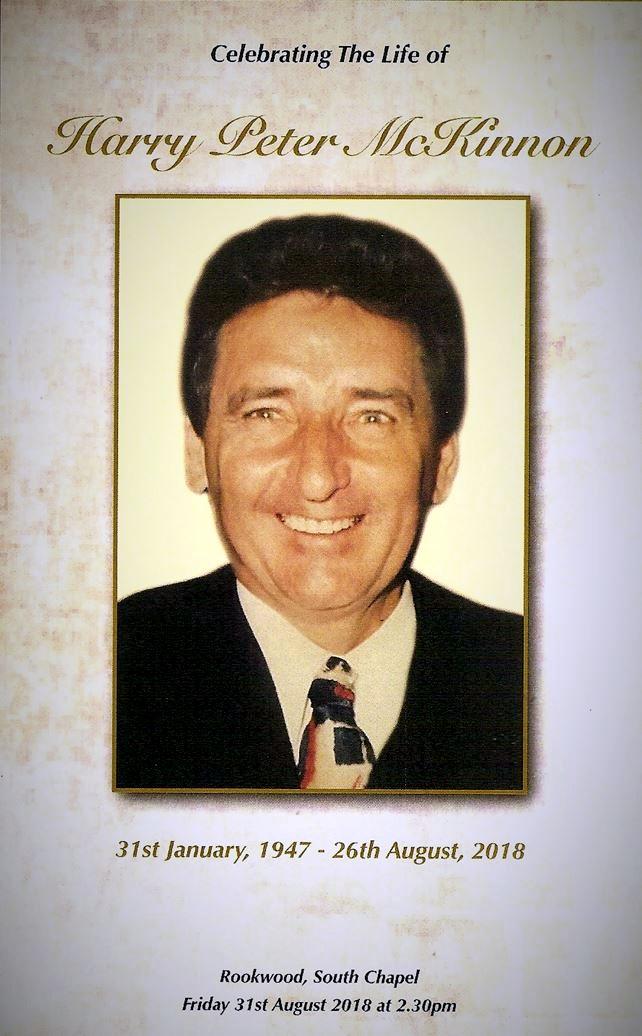 Harold Peter McKINNON