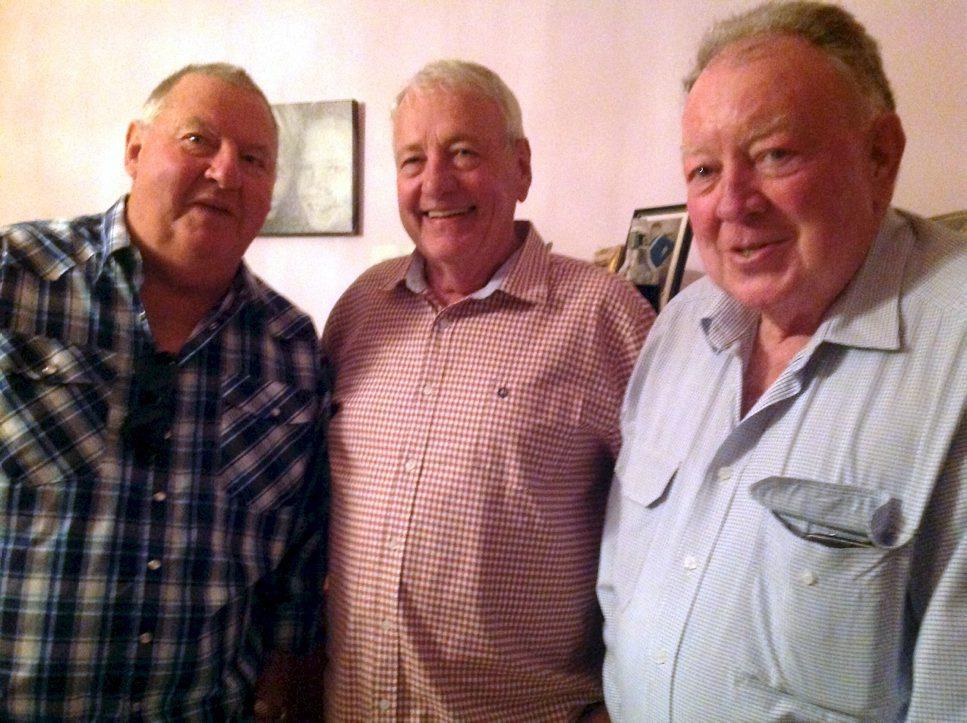 Dave PARSONS, Barry WHARTON, John BYERS