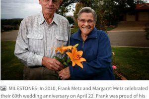 Frank METZ, Margaret METZ