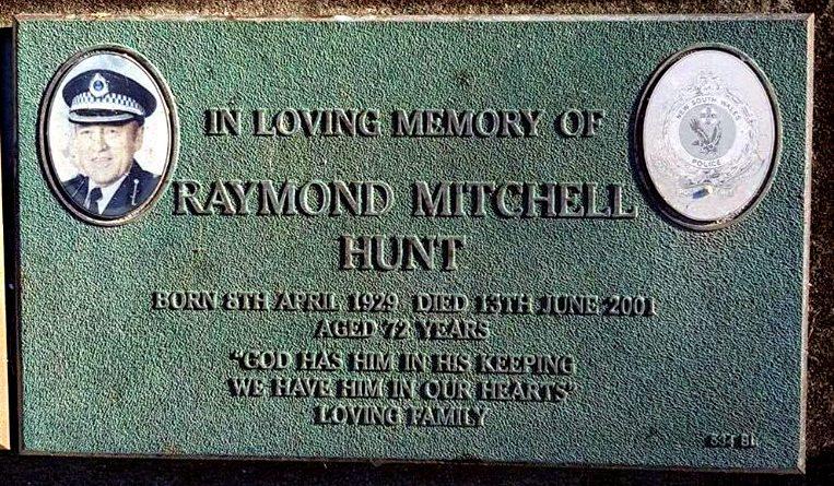 Raymond Mitchell HUNT