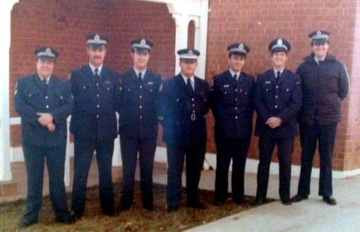 Senior Sergeant Morley centre Narrandera 1983-4. You often wonder about your old Sergeants and how they are going.