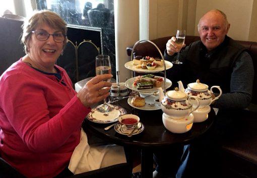Debra Hargreave<br /> June 2, 2018 ·<br /> With Hugh Hargreave at Fairmont Empress.