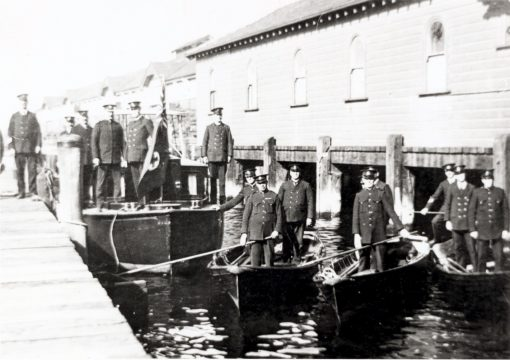 Sydney Water Police with the Cambria - 1930