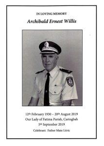 Archibald Ernest WILLIS