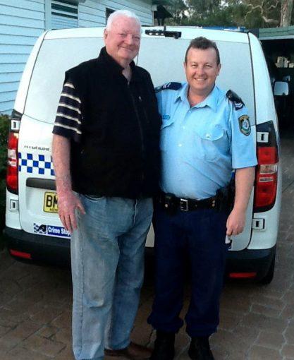 John Kevin GODDEN with his son, Matthew GODDEN.