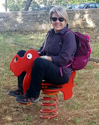 Francine SAMMUT in Tuscany