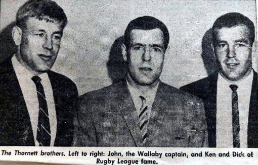 John THORNETT, Ken THORNETT, Richard Norman THORNETT