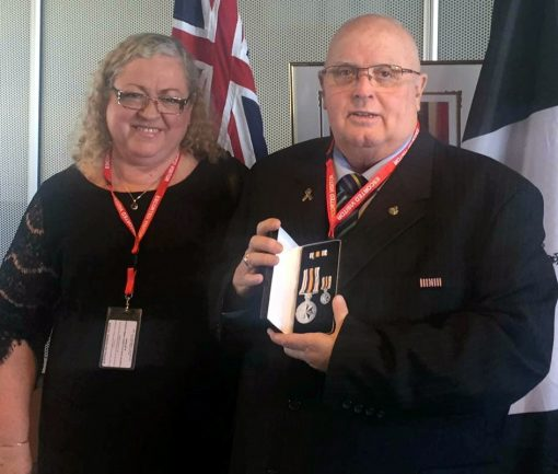 Robyn Perkins & Russell Joseph PERKINS National Police Service Medal - 15 November 2015
